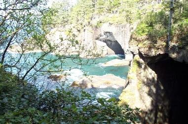 Cape Flattery caverns